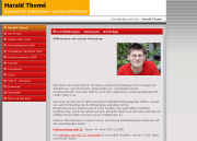 Webseite von Harald Thome